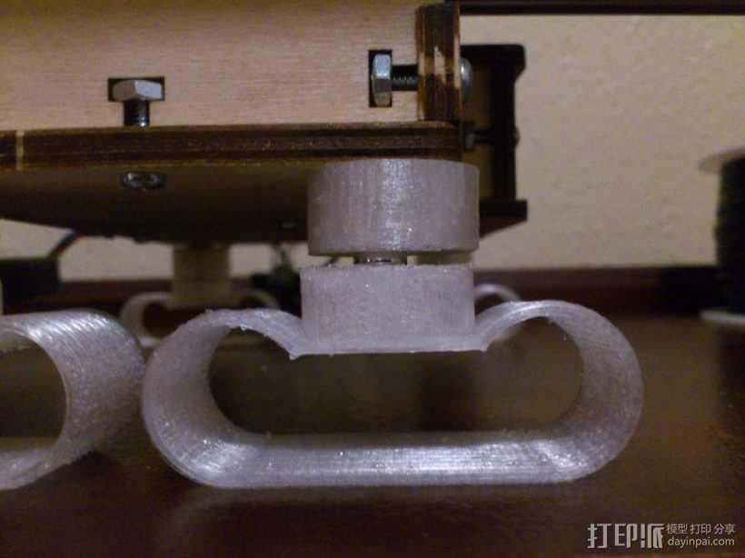 防震器 3D打印模型渲染图