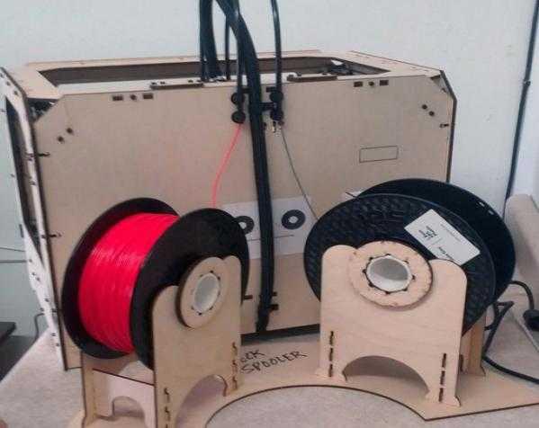 Replicator打印机线轴架 3D打印模型渲染图