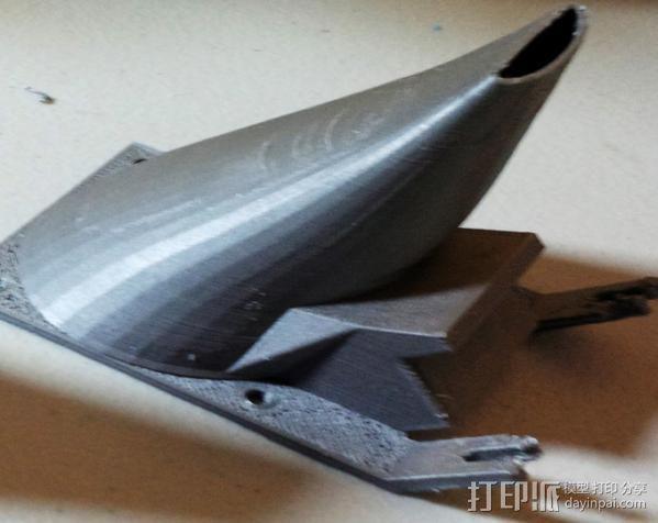 散风机 3D打印模型渲染图