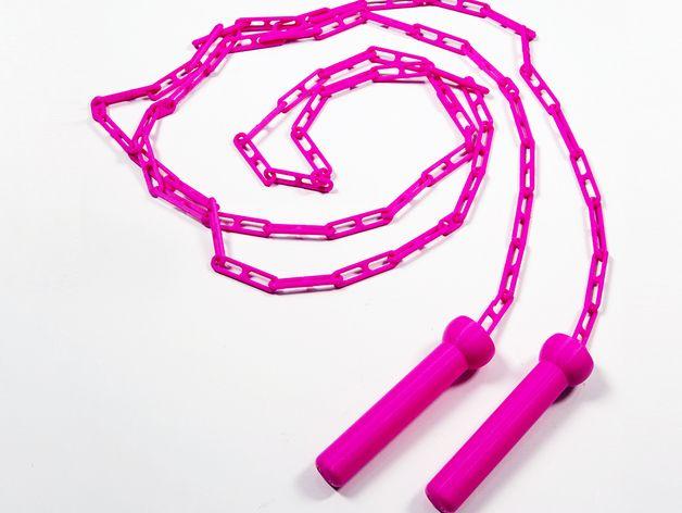 跳绳 3D打印模型渲染图