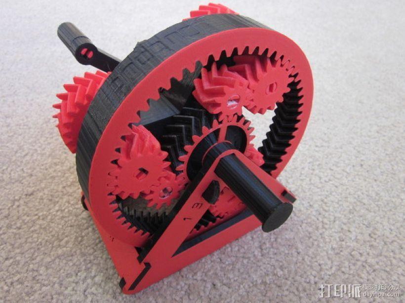 自动变速器 模型 3D打印模型渲染图