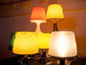 宜家拉姆本台灯灯罩模型
