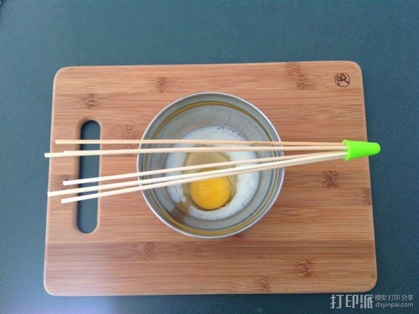 竹签打蛋器模型 3D打印模型渲染图