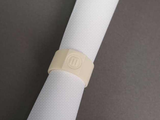 包装纸固定环模型 3D打印模型渲染图
