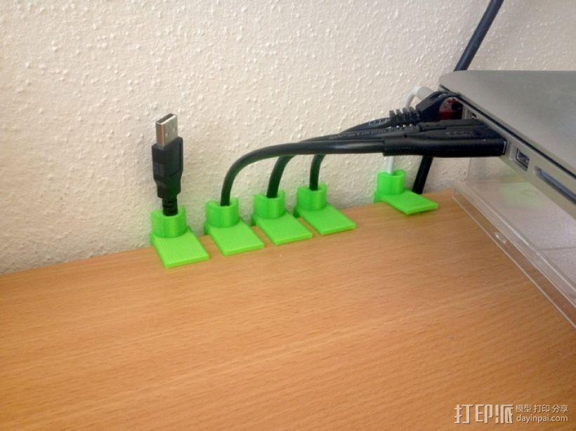 定制化连接线支架模型 3D打印模型渲染图
