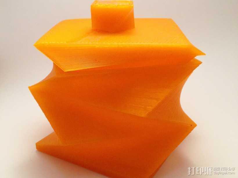 迷你螺旋盒模型 3D打印模型渲染图
