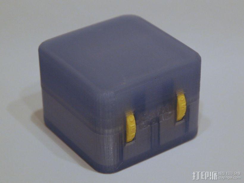 迷你保险箱模型 3D打印模型渲染图