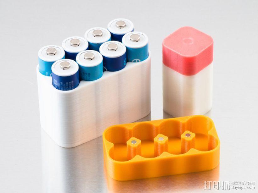 定制化电池盒模型 3D打印模型渲染图