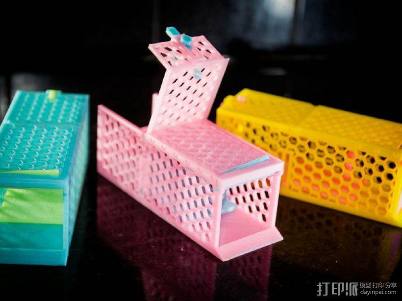 迷你捕鼠器模型 3D打印模型渲染图