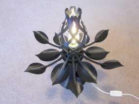 花形灯罩模型