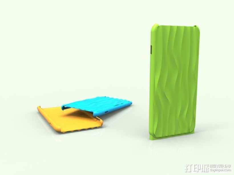 iphone6 手机外壳 3D打印模型渲染图