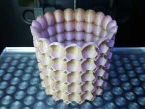 个性化花盆模型