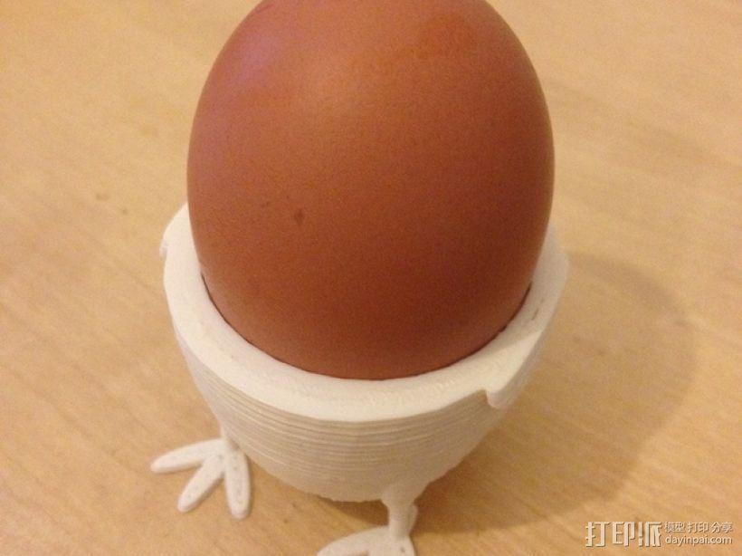 鸡蛋杯模型 3D打印模型渲染图