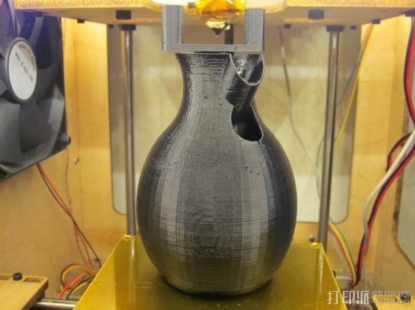 迷你皂液器模型 3D打印模型渲染图