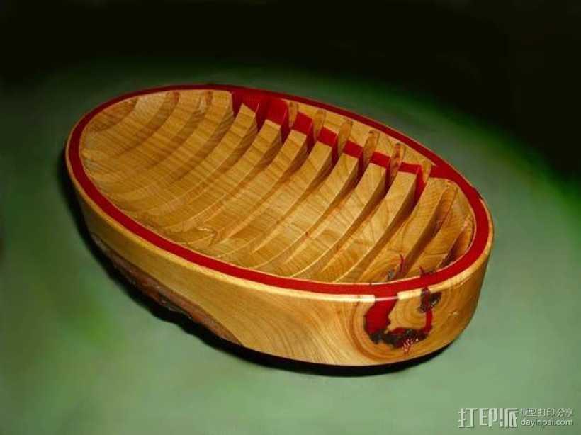 迷你樱桃木盆模型 3D打印模型渲染图