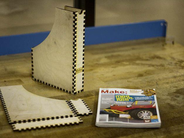 迷你Make杂志盒模型 3D打印模型渲染图