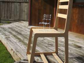 简易椅子模型