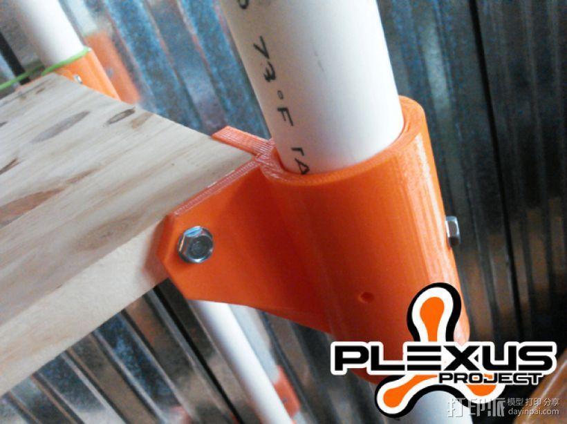 PLEXUS 1角架模型 3D打印模型渲染图