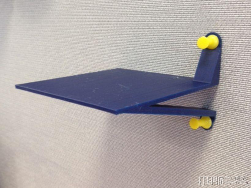 墙壁图钉架子模型 3D打印模型渲染图