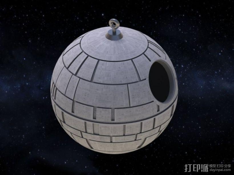 死亡星球鸟笼模型 3D打印模型渲染图