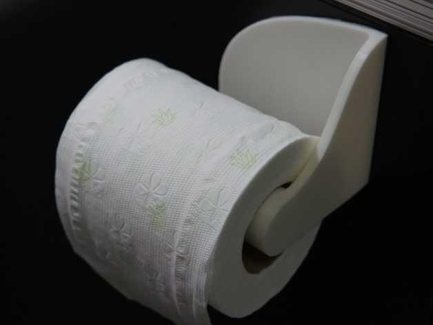厕纸纸架模型 3D打印模型渲染图