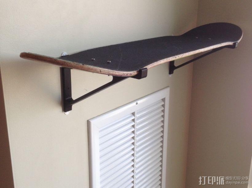 滑板支架模型 3D打印模型渲染图