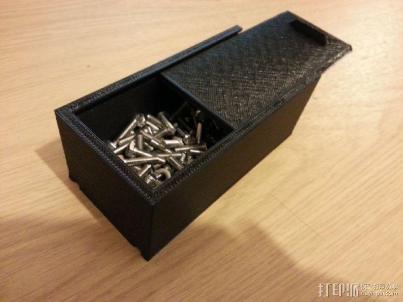 简易储藏盒模型 3D打印模型渲染图