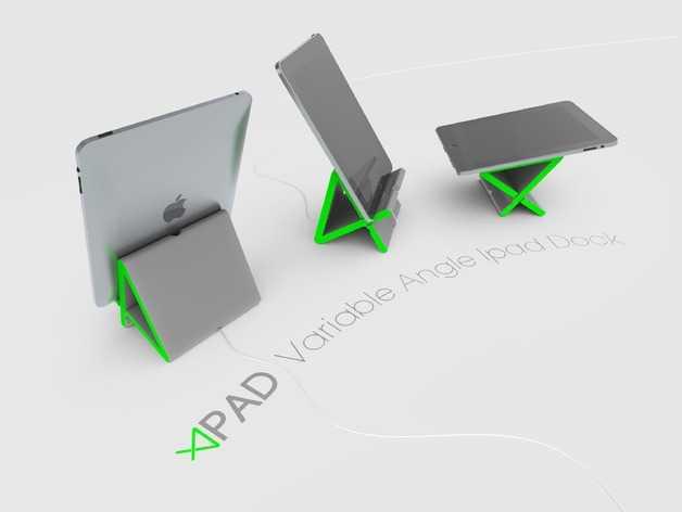 百变iPad架模型 3D打印模型渲染图