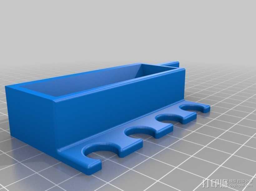 多功能笔架模型 3D打印模型渲染图