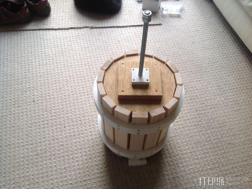 葡萄榨汁装置模型 3D打印模型渲染图