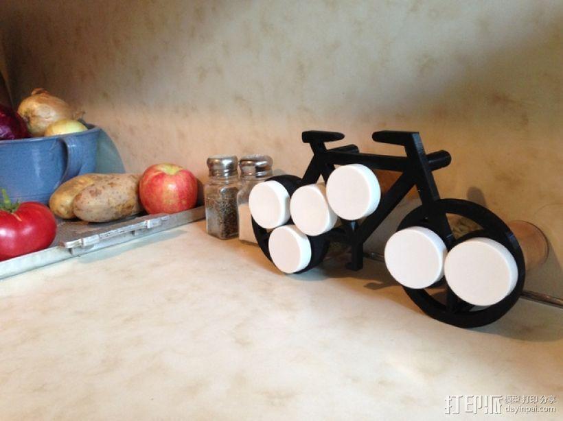 自行车形香料架模型 3D打印模型渲染图