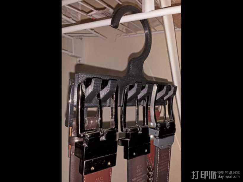 迷你皮带挂钩模型 3D打印模型渲染图