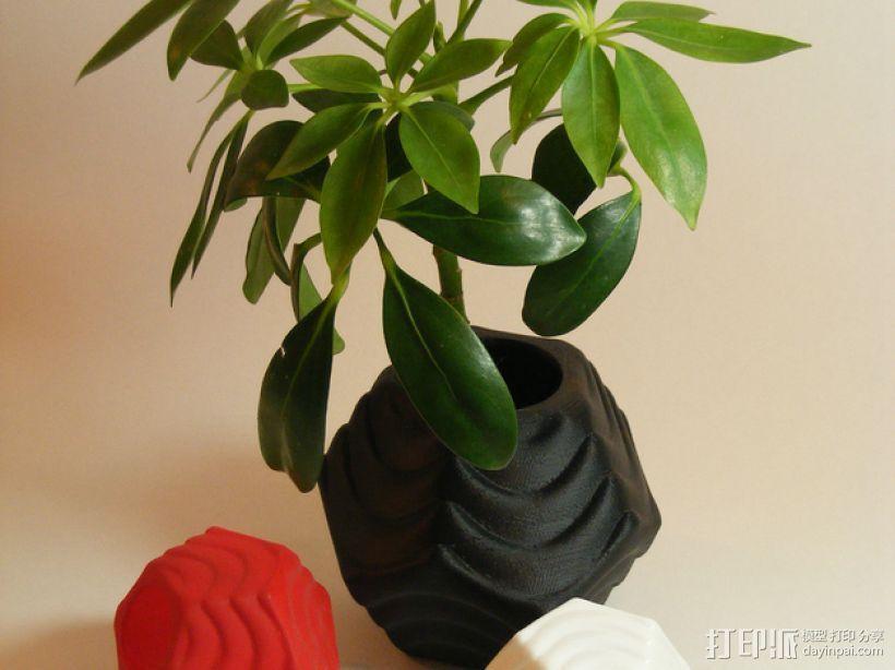 Plantekka花盆 3D打印模型渲染图