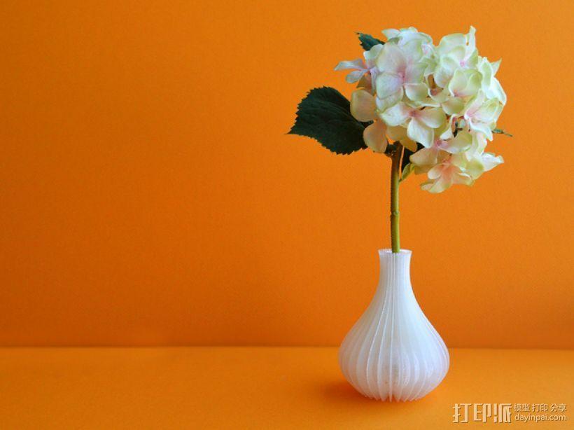 迷你花瓶 3D打印模型渲染图