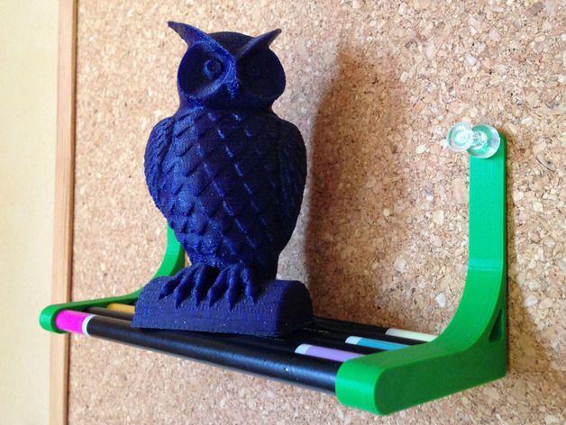 迷你铅笔架子 3D打印模型渲染图