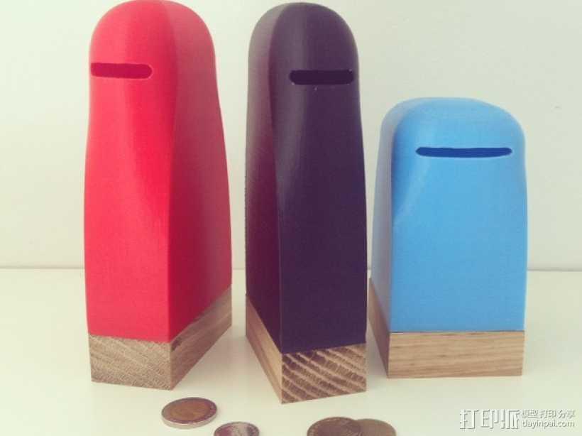 简易存钱罐 3D打印模型渲染图