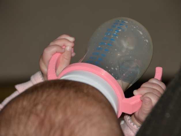 飞利浦奶瓶手柄 3D打印模型渲染图