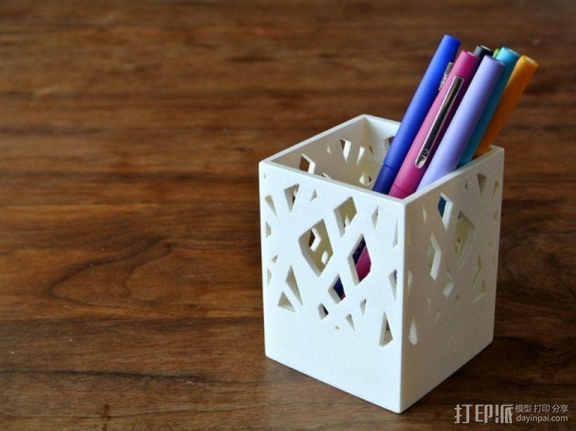 笔筒/烛台 3D打印模型渲染图