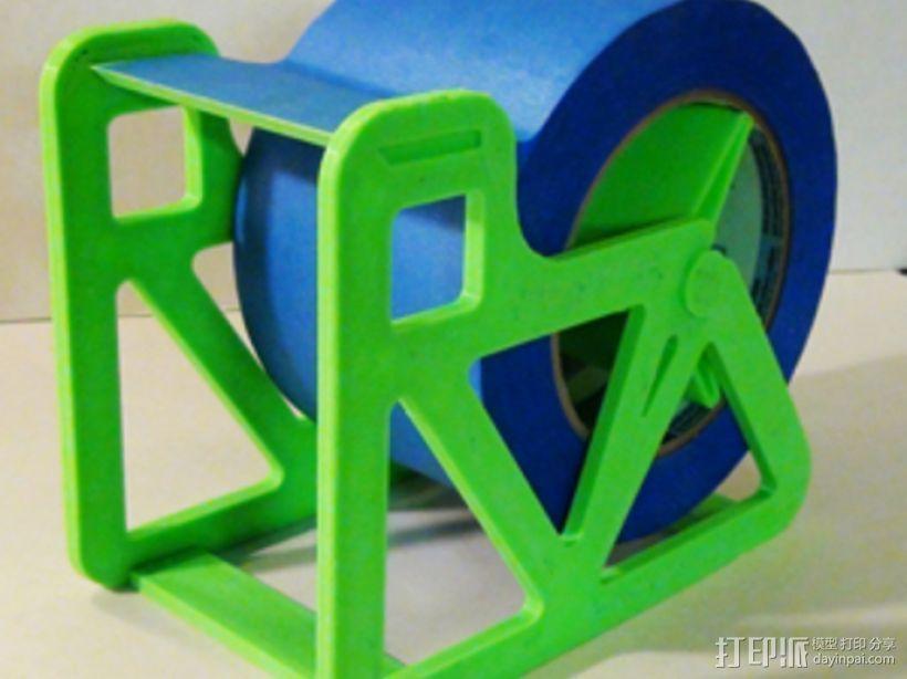 胶带分割器 3D打印模型渲染图