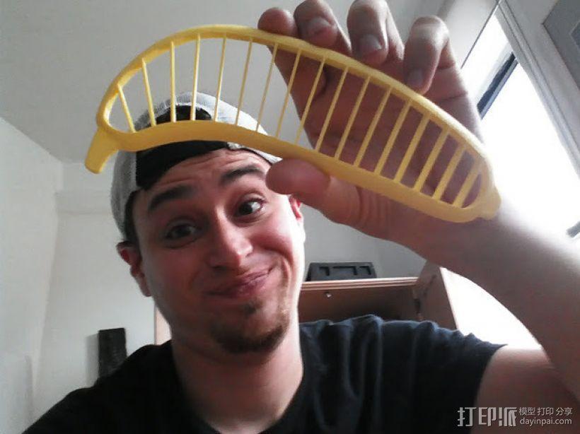 香蕉切片机 3D打印模型渲染图