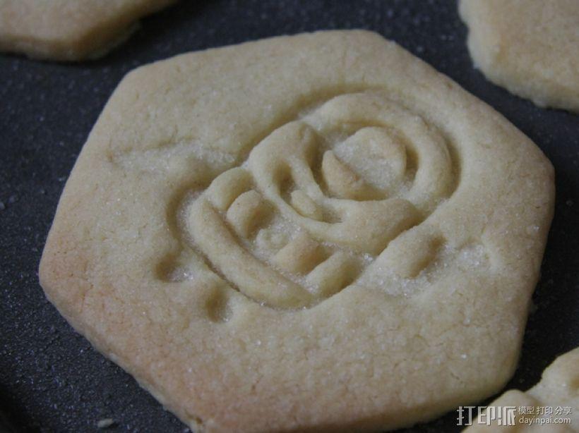 小黄人饼干模具切割刀 3D打印模型渲染图