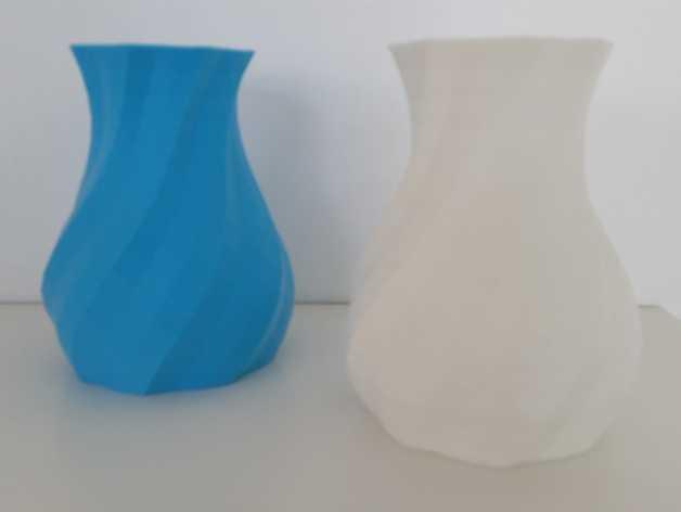 多变圆形花瓶 3D打印模型渲染图