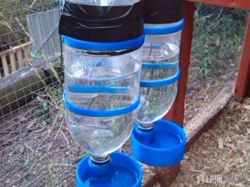 宠物饮水器 3D打印模型渲染图