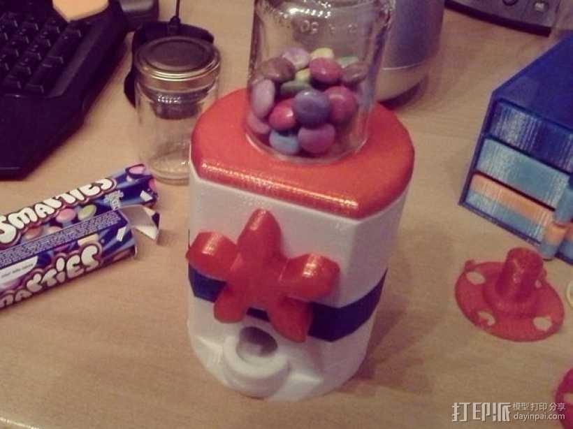 桌面式糖果机 3D打印模型渲染图