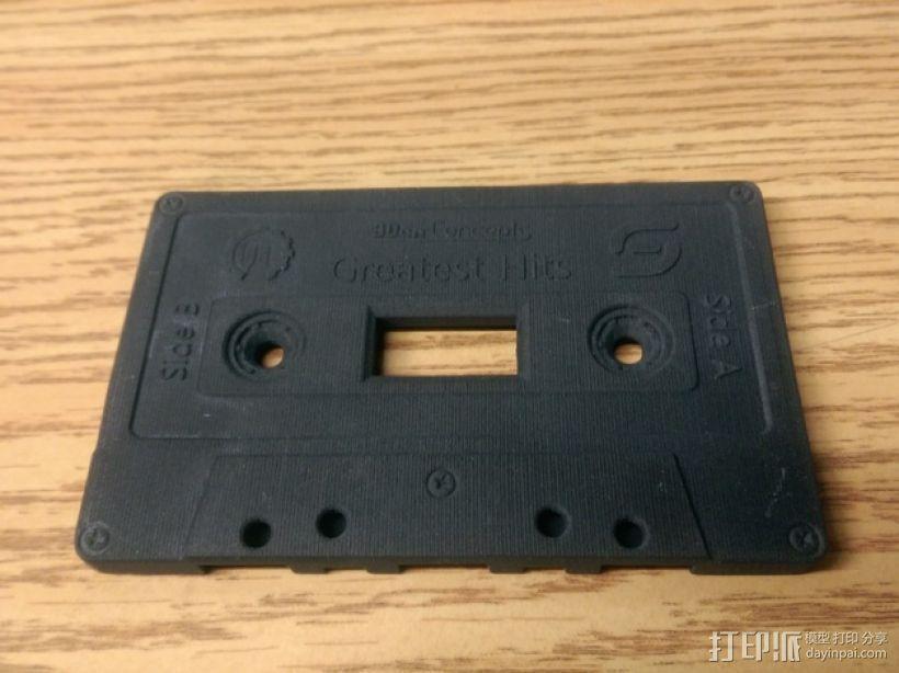 盒式磁带电源开关 3D打印模型渲染图