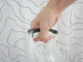 塑料袋手提把手