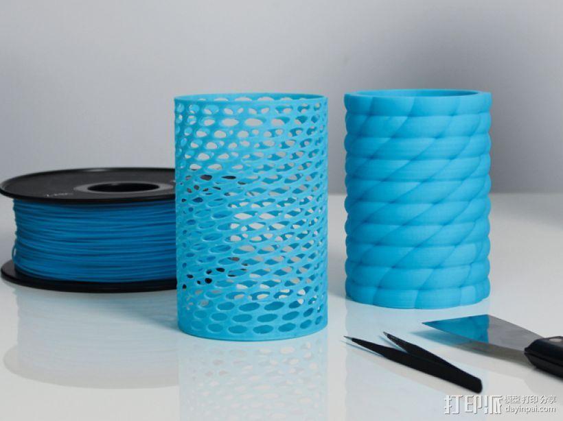 Zortrax花瓶 3D打印模型渲染图