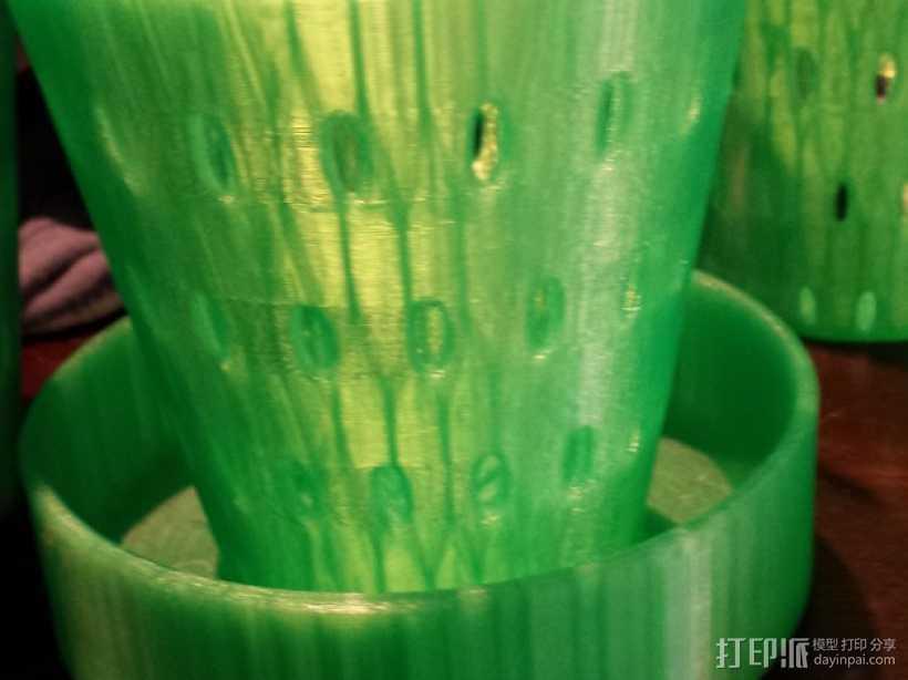 种子筛选装置 3D打印模型渲染图