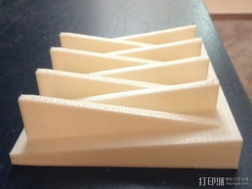 简易肥皂盒 3D打印模型渲染图