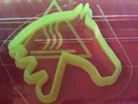马形饼干模具切割刀